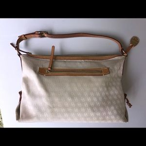 Dooney & Bourke fabric signature hobo